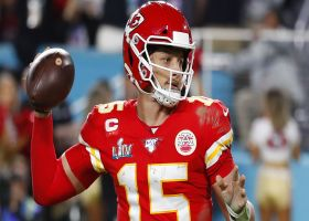 Warner: One area Mahomes can improve on in 2020