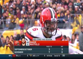 T.J. Watt envelops Baker Mayfield for big red-zone sack