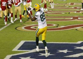 Packers' play action fools 49ers to open up Marcedes Lewis for TD