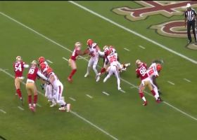 Niners swarm Mayfield for huge third-down sack
