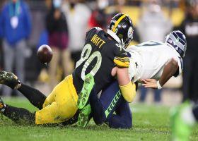 Can't-Miss Play: Unblockable! T.J. Watt's DOMINANT strip-sack puts Steelers in game-winning FG range
