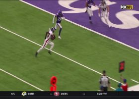 Calvin Ridley speeds across the field for TD