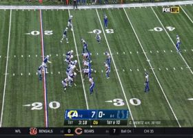 Rams defense swarm Wentz in backfield for big sack
