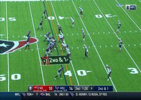 Deshaun Watson fires laser to Jordan Akins for 24-yard gain