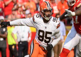 Myles Garrett, Jadeveon Clowney step up with CLUTCH third-down sack