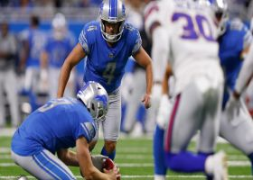 Randy Bullock drills 28-yard FG to give Lions a late lead