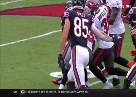 Khalil Herbert keeps legs churning on 29-yard burst