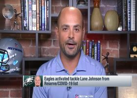 Garafolo: Lane Johnson off COVID-19 list after 13 days