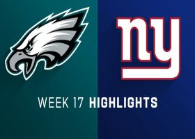 Eagles vs. Giants highlights | Week 17