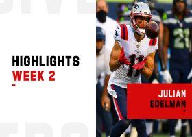 Every catch from Julian Edelman 179-yard performance | Week 2