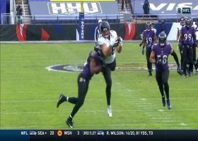 Tyler Eifert dives deep into red zone with 28-yard reception
