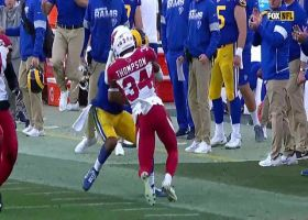 Deep in the Woods! Goff airs out 37-yard third-down dime to Rams WR