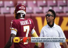 Washington, Cleveland coaches share what it means to make NFL history
