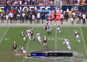 JoJo Natson sets up Rams with 32-yard punt return