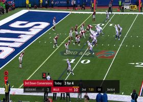 Hard Knox! Dawson withstands multiple hits to set Bills up with first-and-goal