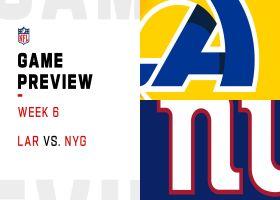 Rams vs. Giants preview | Week 6