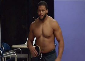 'Hard Knocks': Aaron Donald shows off ping pong skills
