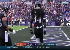 Go inside Baltimore Ravens running back Alex Collins' helmet as he gets the corner for a 7-yard TD | True View