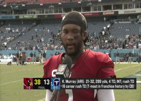 Kyler Murray on win vs. Titans: It gives the team juice