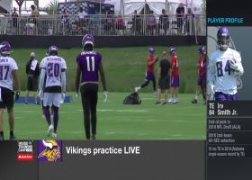 NFL Network's Tom Pelissero: Minnesota Vikings' defense has had trouble containing wide receiver Chad Beebe at camp