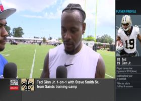 New Orleans Saints wide receiver Ted Ginn Jr. on expectations: Go to the Super Bowl