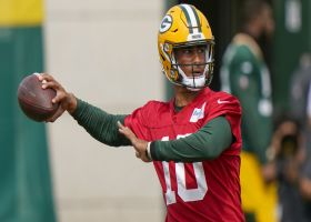 First look: Jordan Love, A.J. Dillon taking reps at Packers training camp
