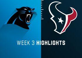Panthers vs. Texans highlights   Week 3