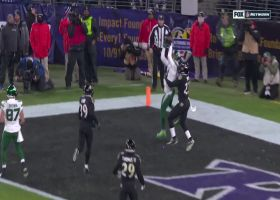 Robby Anderson high points contested Darnold pass for two-point conversion