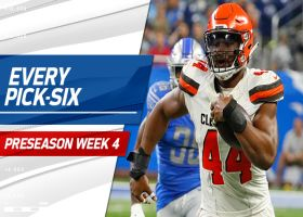 Every pick-six | Preseason Week 4