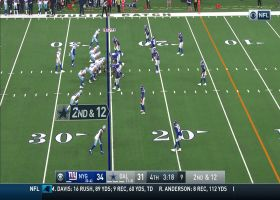 Holy Fackrell! Giants edge rusher stymies Cowboys' misdirection pass play