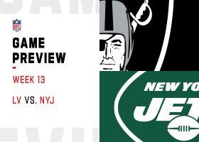 Raiders vs. Jets preview | Week 13