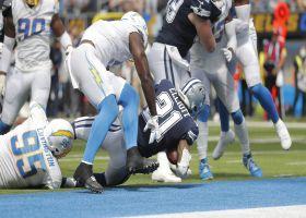 Danielle Hunter swipes past LT for 8-yard sack