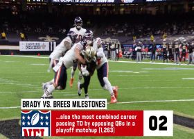 Seven records, milestones Brees and Brady will set in Divisional Round