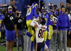 Jalen Ramsey leaps for clutch, tightroping INT along the sideline