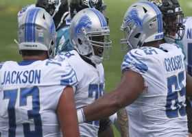 Adrian Peterson finishes impressive Lions' drive with TD run