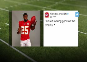 First look: Clyde Edwards-Helaire in Chiefs uniform