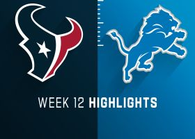 Texans vs. Lions highlights | Week 12