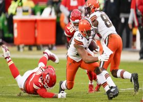 Browns pull out old-school split back look for critical fourth-down run