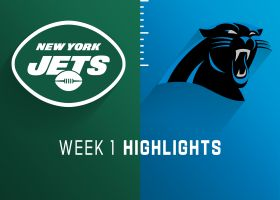 Jets vs. Panthers highlights   Week 1