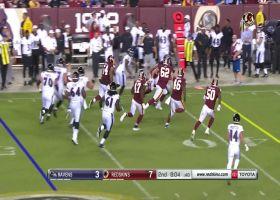 De'Lance Turner zooms through Redskins defense