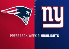 Patriots vs. Giants highlights | Preseason Week 3