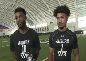 Seth Williams, Anthony Schwartz evaluate their Auburn pro day workouts