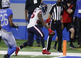 'Great job, Bo Jackson': Romo loves Duke Johnson's TD celebration