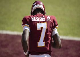 DeAngelo Hall in 'disbelief' over Washington benching Dwayne Haskins