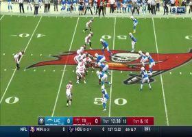 Tom Brady slings 17-yard laser to Mike Evans on crossing route