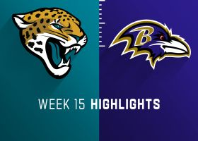 Jaguars vs. Ravens highlights | Week 15
