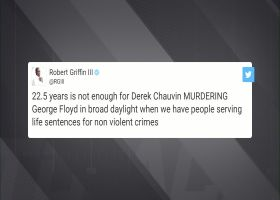 RGIII, Anthony Miller react to Derek Chauvin sentencing