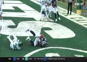 Tannehill locates Firkser on the move for two-point play