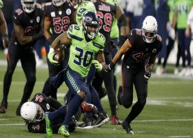 Seahawks are undefeated in action green jerseys