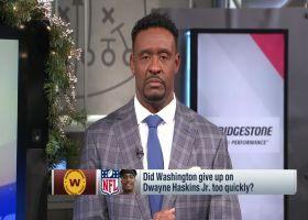 McGinest sends strong message to Dwayne Haskins after QB's release